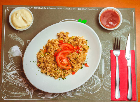 Salate i rižoto
